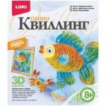 Квиллинг панно Lori Радужная рыбка