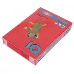 Цветная бумага для принтера Iq Color кораллово-красная, А4, 500 листов, 80г/м2, CO44