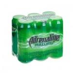 Напиток энергетический Adrenalin Nature 0.5л х 6шт, ж/б