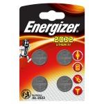 Батарейка Energizer CR2032, литиевая, 4шт/уп