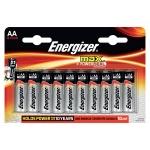 Батарейка Energizer Max АА/LR6, 1.5В, алкалиновая, 16шт/уп