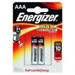 Батарейка Energizer Max ААА/LR03, 1.5В, алкалиновая, 2шт/уп