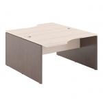 Стол письменный Skyland Xten X2CET 169.2, двойной, береза норд/рено, 1600х1810х750мм