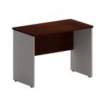 Стол приставной Skyland Imago ПС-1, венге/металлик, 900х500х650мм