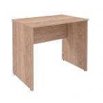 Стол письменный Skyland Simple S-900, дуб сонома светлый, 900х600х760мм