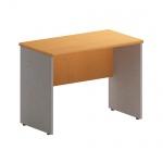 Стол приставной Skyland Imago ПС-1, клен/металлик, 900х500х650мм