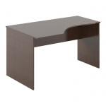 Стол письменный Skyland Simple SE-1600, эргономичный, левый, легно темный, 1600х900х760мм