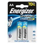 Батарейка Energizer Maximum AA/LR6, 1.5В, алкалиновая, 2шт/уп