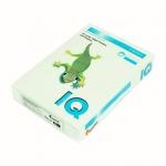 Цветная бумага для принтера Iq Color светло-зеленая, А4, 500 листов, 80г/м2, GN27