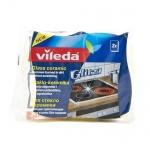 Губка для мытья посуды Vileda для стеклокерамических плит, 2 шт/уп