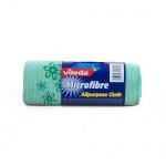 Салфетка хозяйственная Vileda Microfibre универсальная, 32х32см, микрофибра, 1шт/уп, в рулоне