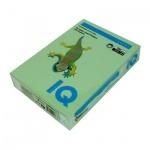 Цветная бумага для принтера Iq Color зеленая, А4, 100 листов, 80г/м2, MG28