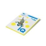 Цветная бумага для принтера Iq Color желтый неон, А4, 80г/м2, NEOGB, 100 листов