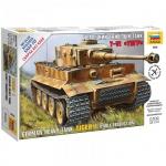 Модель для сборки Звезда Немецкий тяжёлый танк T-VI Тигр, масштаб 1:72