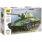 Модель для сборки Звезда Советский средний танк Т-34, масштаб 1:72