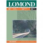 Фотобумага для струйных принтеров Lomond А4, 100 листов, 130г/м2, матовая, двусторонняя, 102004