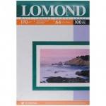 Фотобумага для струйных принтеров Lomond А3, 100 листов, 170 г/м2, матовая, двусторонняя, 102012