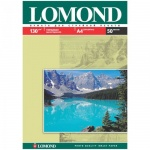 Фотобумага для струйных принтеров Lomond А4, 50 листов, 130г/м2, глянцевая, одност., 102017