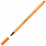 Ручка капиллярная Stabilo Point, 0.4мм, оранжевый