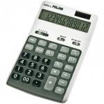 Калькулятор настольный Milan 150712GBL белый/серый, 10 разрядов, двойное питание