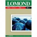 Фотобумага для струйных принтеров Lomond А4, 50 листов, 170г/м2, глянцевая, одност., 102142