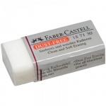 Ластик Faber-Castell Dust Free 41х19х12мм, белый, винил, 187130