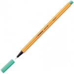 Ручка капиллярная Stabilo Point, 0.4мм, зеленый лед