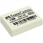 Ластик Faber-Castell Latex Free 7041 34х26х8мм, белый, каучук, 184140