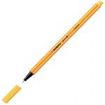 Ручка капиллярная Stabilo Point, 0.4мм, желтый