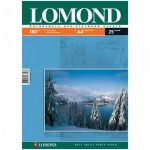 Фотобумага для струйных принтеров Lomond А4, 25 листов, 180 г/м2, матовая, односторонняя, 102037