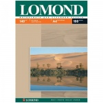Фотобумага для струйных принтеров Lomond А4, 100 листов, 140 г/м2, матовая, односторонняя, 102074