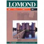 Фотобумага для струйных принтеров Lomond А3, 100 листов, 90г/м2, матовая, односторонняя, 102011