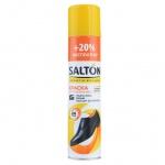 Краска для обуви Salton для обновления гладкой кожи, черная, 250мл