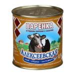 Молоко сгущенное Алексеевское 8.5% 370г, варенка, ж/б