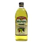 Масло растительное Monini из виноградных косточек, 1л
