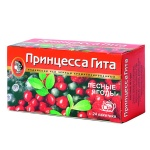 Чай Принцесса Гита, черный, 24 пакетика, лесные ягоды