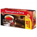 Чай Принцесса Гита Индия, черный, 100 пакетиков