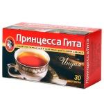 Чай Принцесса Гита Индия, черный, 30 пакетиков без ярлычка