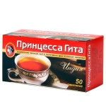 Чай Принцесса Гита Индия, черный, 50 пакетиков без ярлычка