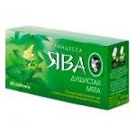 Чай Принцесса Ява Душистая мята, зеленый, 25 пакетиков