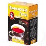 Чай Принцесса Гита Традиционный листовой, черный, 100г