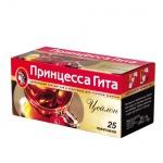 Чай Принцесса Гита Цейлон, черный, 25 пакетиков