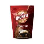 Кофе растворимый Жокей Триумф 150г, пакет