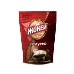 Кофе растворимый Жокей Триумф 75г, пакет