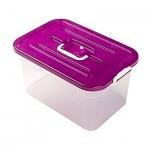 Ящик для хранения Полимербыт пластиковый, 15л