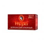 Чай Принцесса Нури Цейлонский Отборный, черный, 30 пакетиков без ярлычков