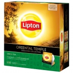 Чай Lipton Discovery Collection Oriental Temple, зеленый, 100 пакетиков