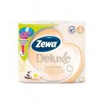 Туалетная бумага Zewa Deluxe Арома Спа, бежевая, 3 слоя, 4 рулона, 150 листов, 21м