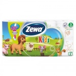 ��������� ������ Zewa Kids ��� �������, ����� � ���������, 3 ����, 8 �������, 150 ������, 20.7�
