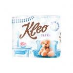 Туалетная бумага Kleo Ultra без аромата, белая, 3 слоя, 4 рулона, 168 листов, 21м